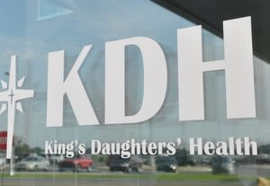 logo of King's Daughters' Hospital, Madison, Indiana