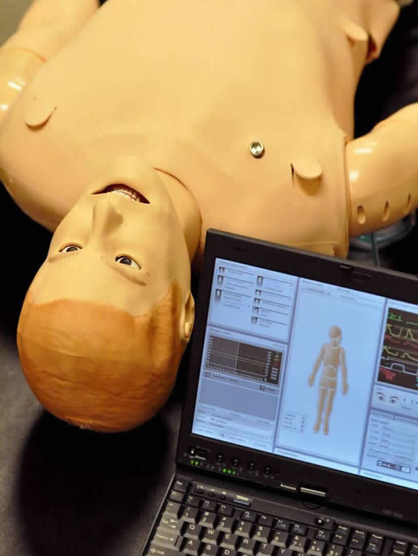 image of a human patient simulator